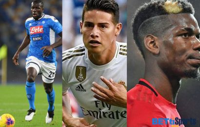 Thread : Transfers – West in Koulibaly race, Pogba Out?, Everton keen on James and many more